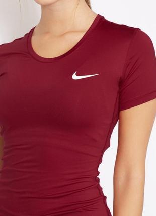 Женская футболка nike pro оригинал из новой коллекции