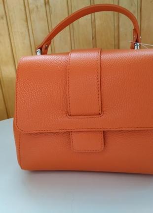 Модна шкіряна сумка