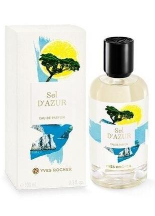 Парфюмированная вода sel d'azur ив роше, 100мл