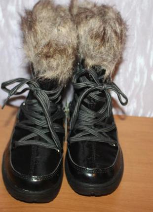 """Жіночі зимові чобітки, сапоги, """"луноходи"""" , дутіки crane німеччина"""