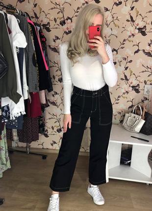 Актуальные штаны с высокой посадкой