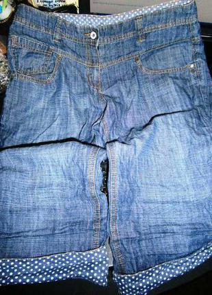 Next джинсовые капри sp