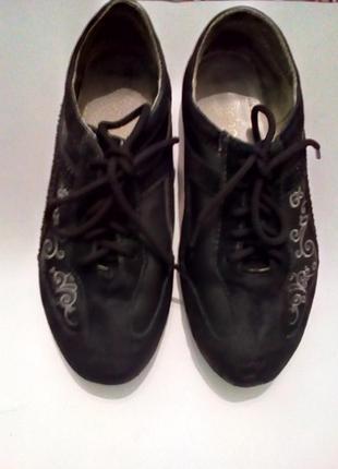 Макасины туфли натуральная кожа