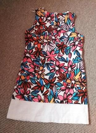 Красивое льняное платье раз.14