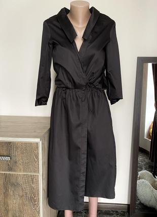 Платье миди на запах jil sander оригинал