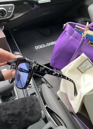 Полупрозрачные очки с козырьком от dior