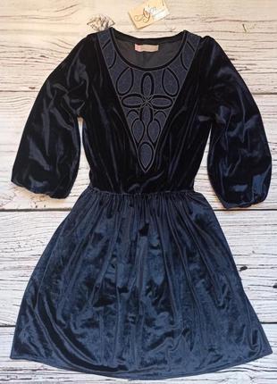 Велюрова сукня 🖤