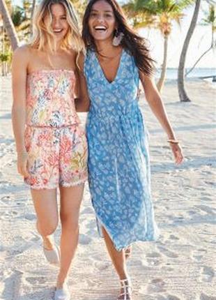 Платье next некст в морском стиле, новая коллекция, вискоза