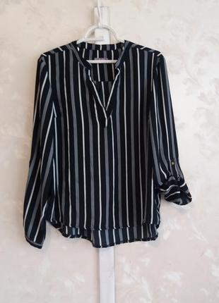 Блуза-рубашка в полоску avenue