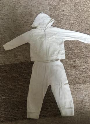 Спортивний костюм га дівчинку 68 см( 6 міс)