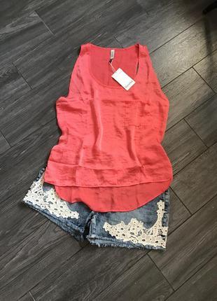 Блуза под шёлк