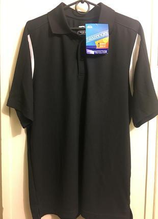 Новая мужская футболка мужское поло недорого slazenger polo shirt m-l оригинал