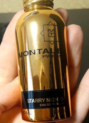 Montale starry night.  отливант.