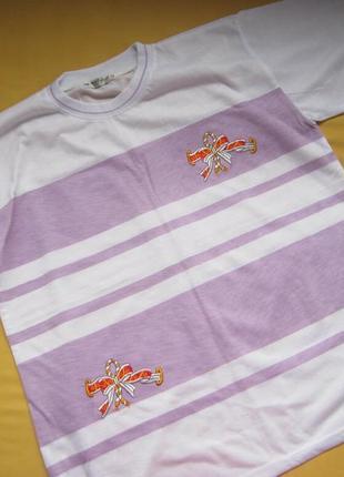 Большой размер,новая женская футболка с разрезиками по бокам