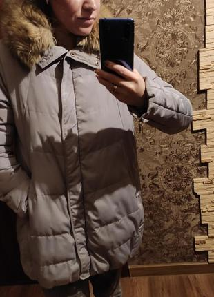 Куртка-пуховик ( бочечка)