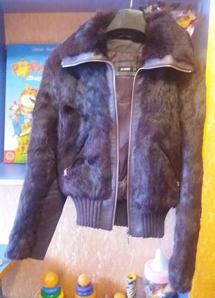 Куртка с кролика