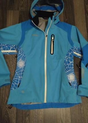 Дождевик трекинговая куртка  bergans p.l goretex мембрана