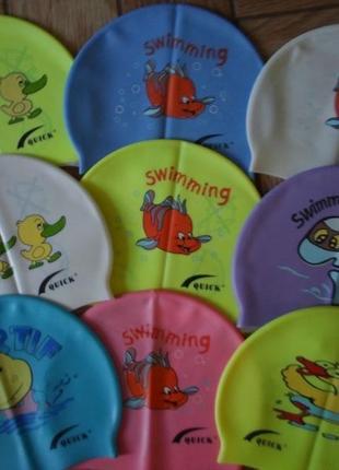 Нові дитячі шапочки для плавання
