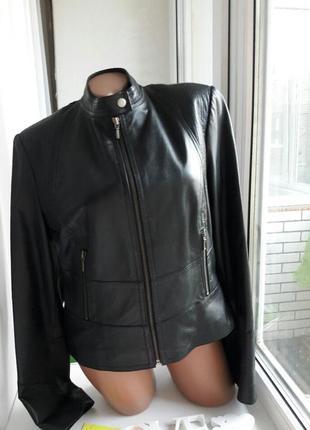 Классическая куртка натуральная кожа