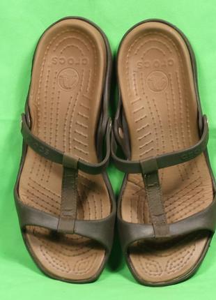 Оригинальные шлепанцы  crocs размер 40-41