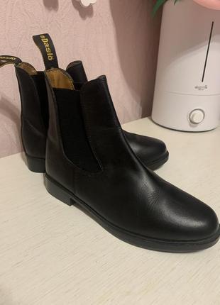 Кожаные ботинки daslo