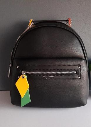 Рюкзак оригінальний чорного кольору david jones оригінал