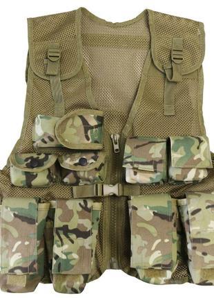 Новый разгрузочный жилет mtp kids assault vest (s) 15-16 лет