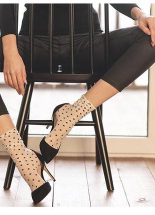 Стильные капроновые носочки legs
