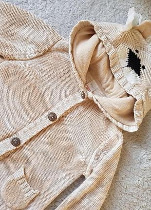Кофта, свитер,реглан next 9-12 м. 1 год.