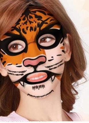 Маска animal face tiger bioaqua к.10317