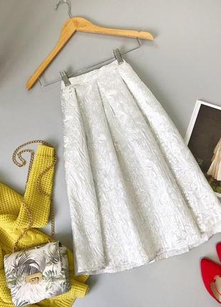 Прекрасная юбка миди miss selfridge