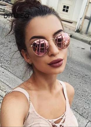 Зеркальные солнцезащитные  очки 3 цвета