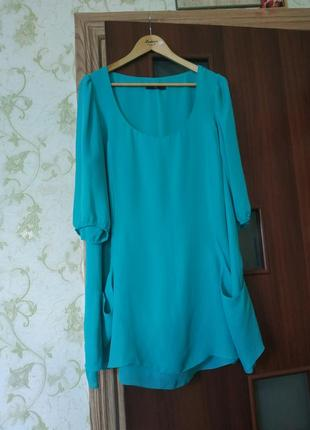 Туника-блуза большого размера
