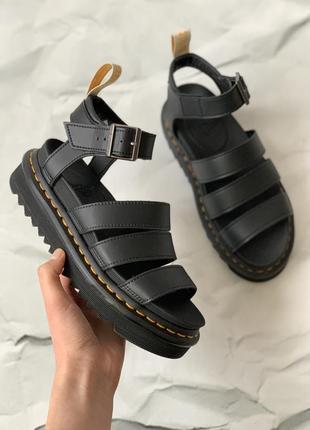 Оригинальные сандали dr martens - blaire vegan black