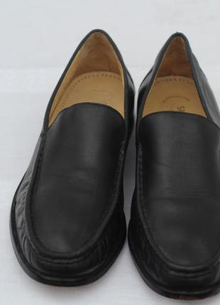 Роскошные кожаные туфли, мокасины salamander 42 разм
