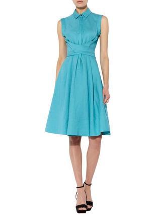 Роскошное льняное платье лен hobbs