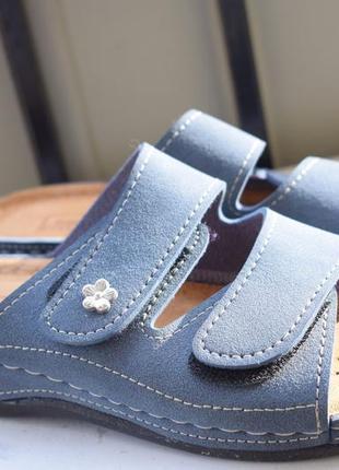 Стильные босоножки сандали шлепанцы шлепки тапки сланцы на липучках