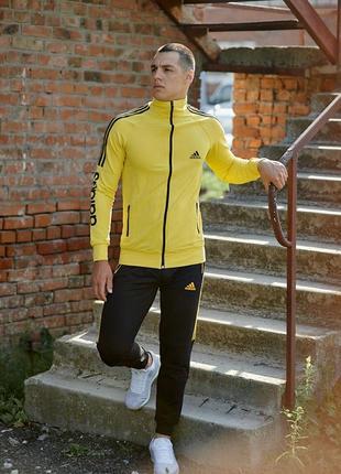 Мужские трикотажные спортивные костюмы adidas.размеры,цвета,с капюшоном и без.дешево