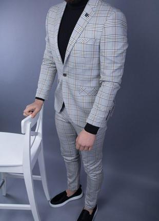 Мужской классический костюм люкс качество