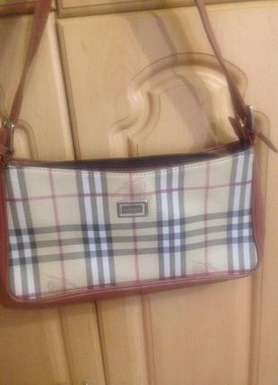 Burberry сумочка