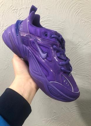 Nike air m2k tekno ♦ женские  кроссовки найк фиолетовые