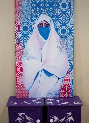 Картина марокканский узор