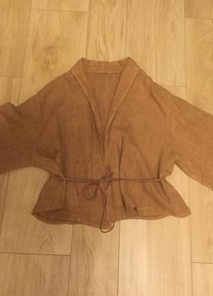 Пиджак из льна итальянской фирмы