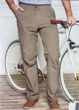 Штаны шорты трансформеры хлопковые watsons. размер 50й