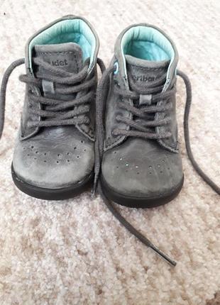 Кожаные ботинки размер 20