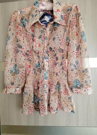 Блузка прозрачная новая.