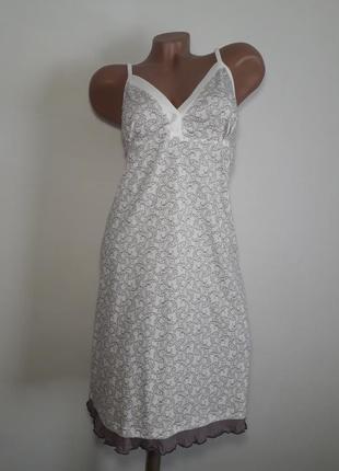 Ночная рубашка сорочка ночнушка для кормления беременных кормящих 52-54