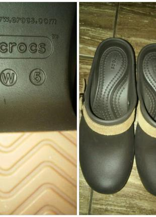 Сабо crocs,р-р 35