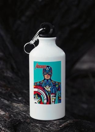 Бутылка спортивна марвел