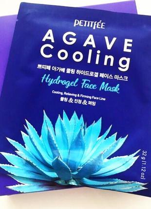 Petitfee agave cooling гидрогелевая охлаждающая маска для лица с экстрактом агавы